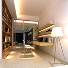 Study Sliding Door Interior