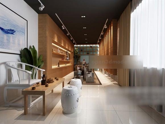Tea Restaurant Interior