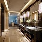 Public Hotel Toilet Interior