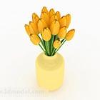 الزنبق داخلي وعاء الزهور