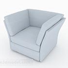 Meubles simples créatifs blancs de sofa