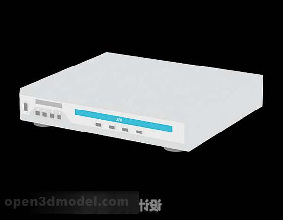 White Dvd Player Device