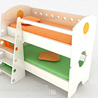 Katil Kanak-kanak yang berwarna-warni