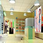 محل لبيع الملابس النسائية