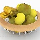 Cesto Di Frutta In Legno Di Frutta