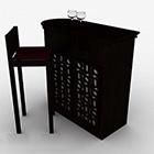 Holz Bar Counter