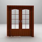 Porta di legno libera