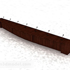 Décor de bureau de conférence en bois
