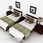 Hölzerne Einzelbettkombination