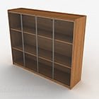 Wooden Three Layer Display Cabinet