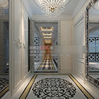 Hiasan Mosaic Home Aisle Interior
