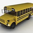Yellow Bus School Bus Vehicle