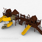 Yellow Outdoor Playground Park