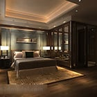 Chinese Style Bedroom Interior V1