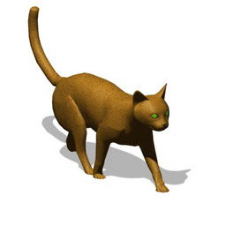 Lowpoly 猫無料3dモデル 3ds Gsm Open3dmodel 364204