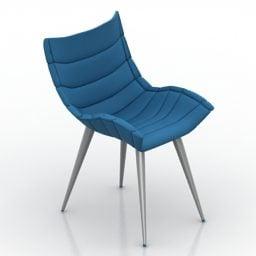 Modern Armchair Blue Fabric Free 3d Model 3ds Fbx Gsm Maバツ Open3dmodel 3678