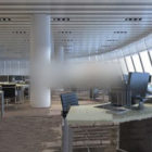 Finestre curve dell'ufficio generale