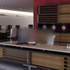 Ufficio generale con armadio sedia da tavolo