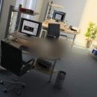Ufficio Generale Con Tavolo Di Lavoro