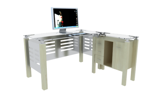 Office Table With Computer