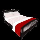 木製ベッドV1