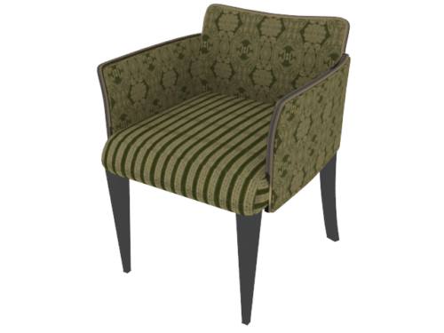 Green Fabric Sofa Chair