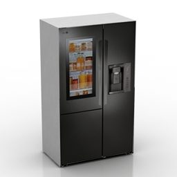 Side By Side Refrigerator Lg Brand