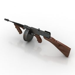 Gun Thompson Weapon