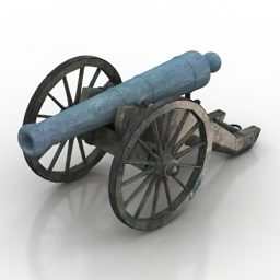 Vintage Cannon Civil War