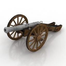 Vintage Cannon Weapon