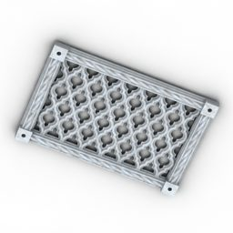 Rectangle Air Grate