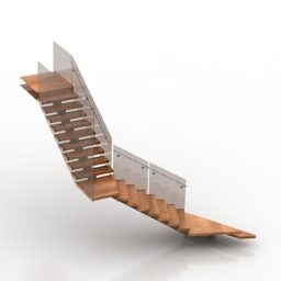 House Wooden Staircase