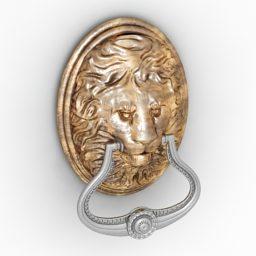 Tirador de puerta Lion Sharped