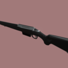 Vintage Sniper Rifle Gun
