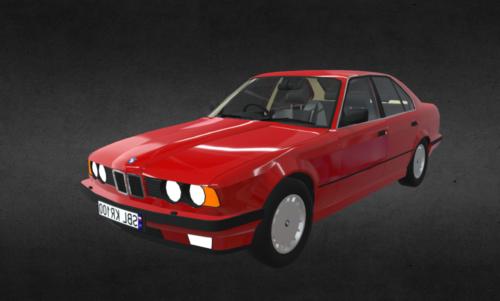 Bmw E34 Car