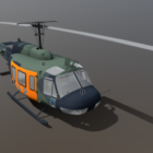 Bell Uh-1 Helicopter