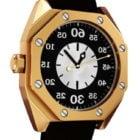 Goldene Hublot-Uhr
