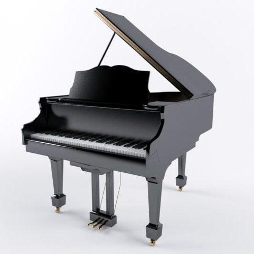 Instrumento de piano de cola