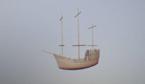 Vintage-karibialainen vene