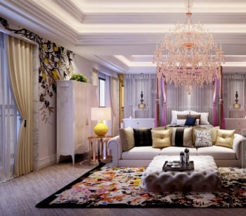 Boutique Bedrooms Interior