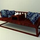 中国のロハンの椅子
