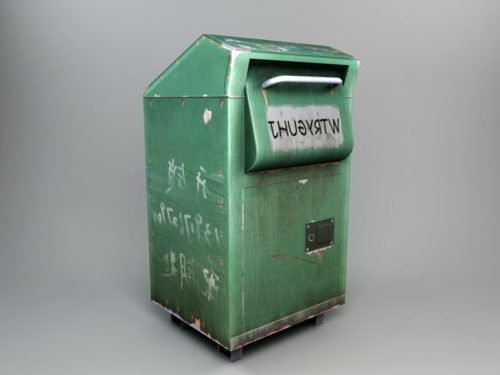 Old Garbage Can