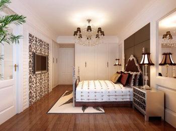 European Modern Bedroom Interior
