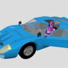 Ford Gt40 Araba Yarışı V1