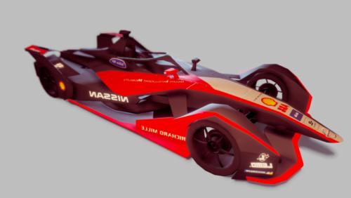 Coche de carreras de Nissan