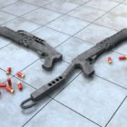 हथियार फ्रेंकी स्पा -12 गन