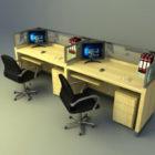 Set tavolo da lavoro per ufficio generale
