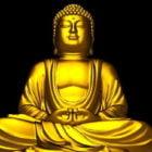Ancient Gold Buddha Statue