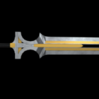 Great Sword Gaming Battle Weapon