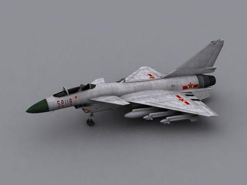 Military J-10 Vigorous Dragon Aircraft